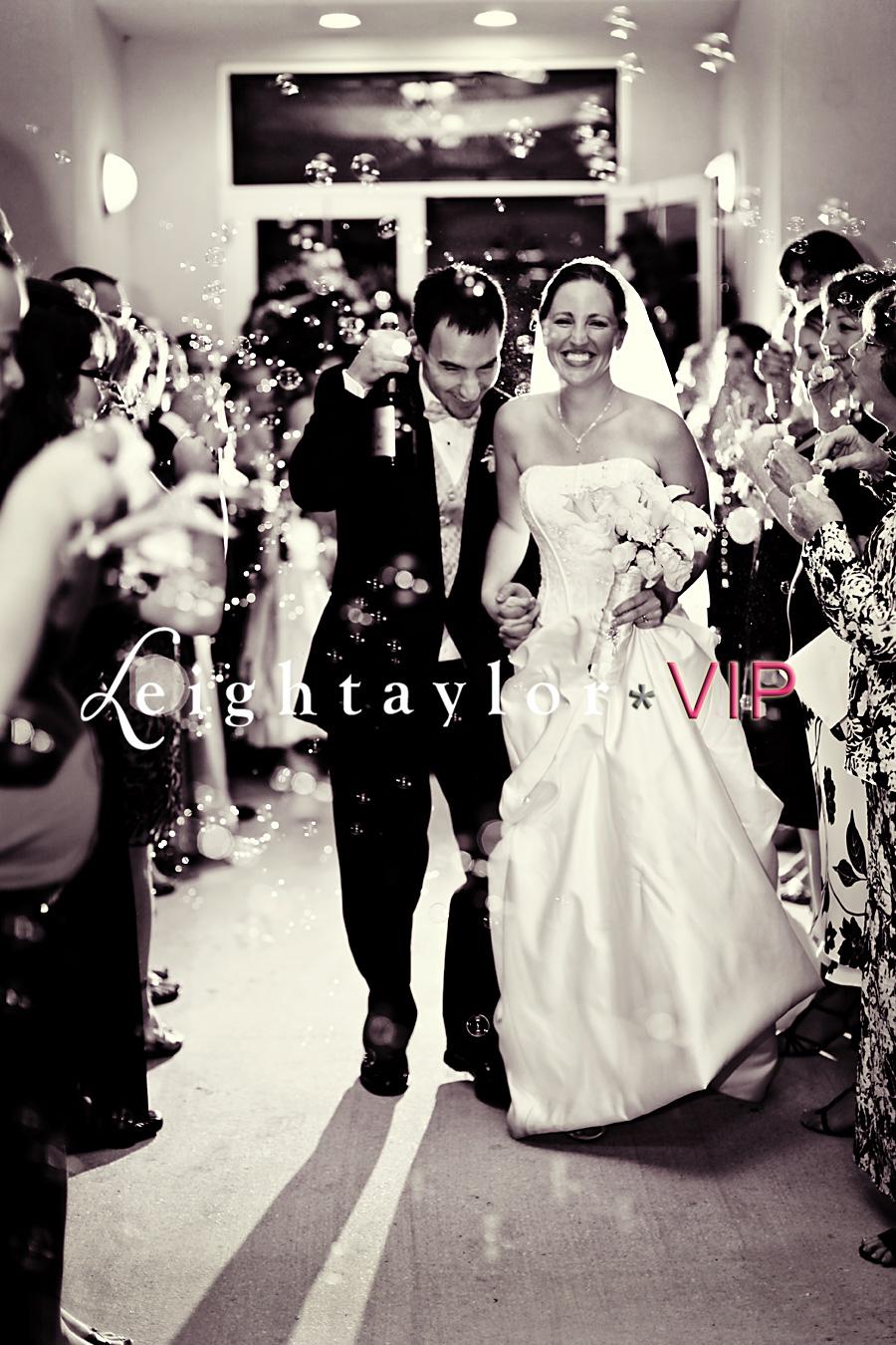 bubble wedding send off live laugh celebrate